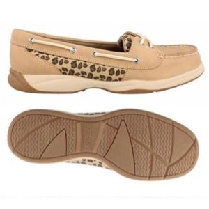 Sperry Top Sider  Nude with Animal Print